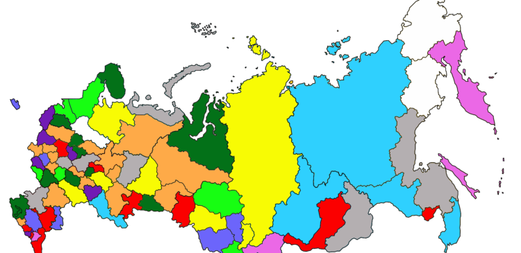 Список регионов Яндекса